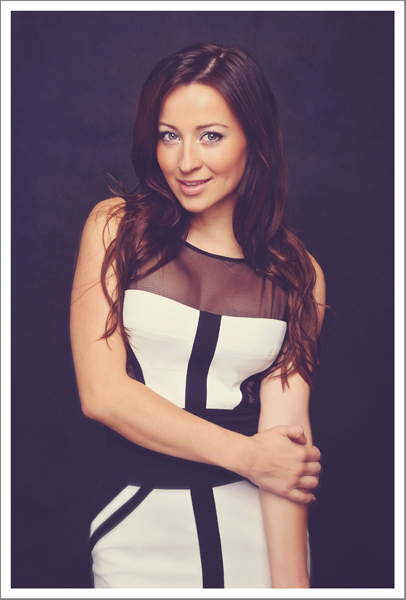Actress Ashley Leggat Fashion Shoot