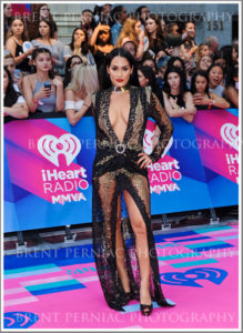 18 June 2017 - Toronto, Ontario, Canada.  Nikki Bella arrives on the pink carpet at the 2017 iHeartRadio MuchMusic Video Awards at MuchMusic HQ. Photo Credit: Brent Perniac/AdMedia