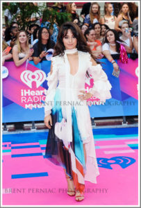 18 June 2017 - Toronto, Ontario, Canada.  Camila Cabello arrives on the pink carpet at the 2017 iHeartRadio MuchMusic Video Awards at MuchMusic HQ. Photo Credit: Brent Perniac/AdMedia